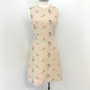 Vintage 90s Anthropologie Tocca M Cherry Dress